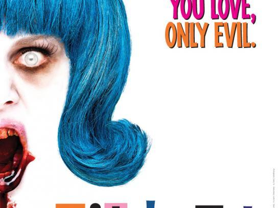 Evil Dead Print Ad -  Hairspray