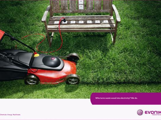 Evonik Industries Print Ad -  Bench