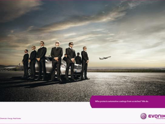 Evonik Industries Print Ad -  Carguards