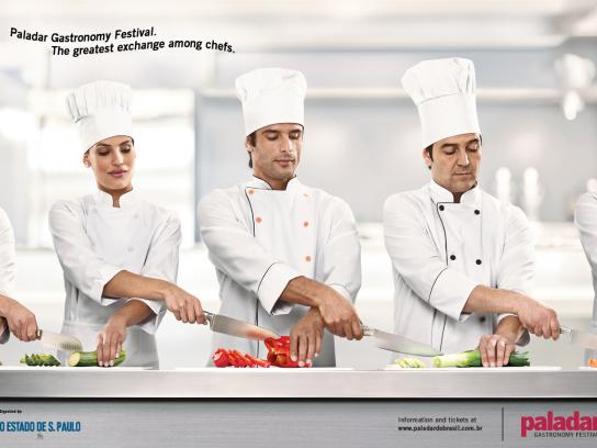 Paladar Gastronomy Award Print Ad -  Exchange 3