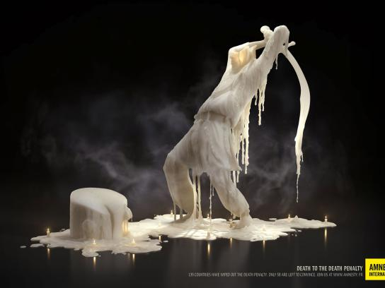 Amnesty International Print Ad -  Executioner
