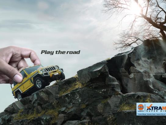 Xtramile Print Ad -  Play, 2