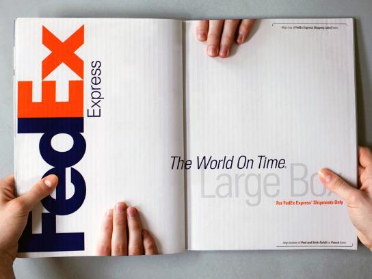 FedEx Print Ad -  Box