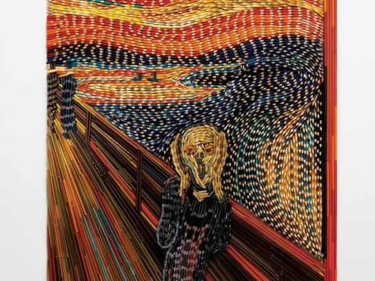 Faber-Castell Print Ad -  The Scream