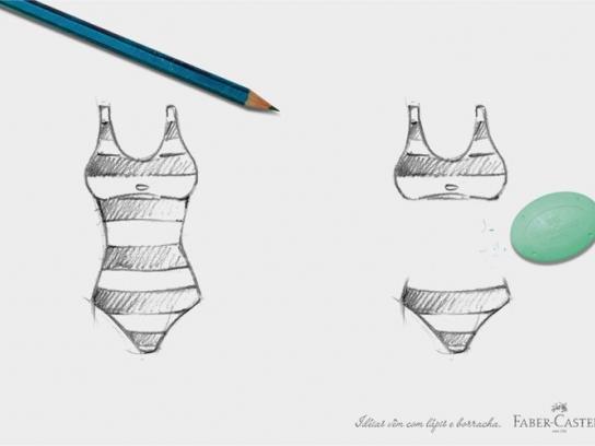 Faber-Castell Print Ad -  Bikini