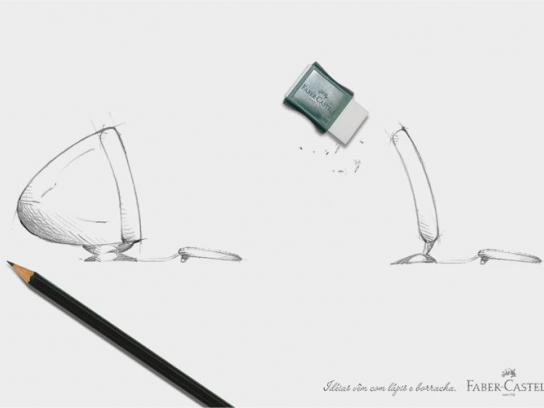 Faber-Castell Print Ad -  Flat screen