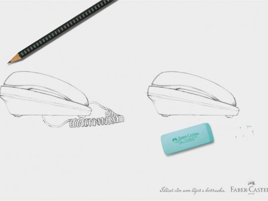 Faber-Castell Print Ad -  Wireless phone