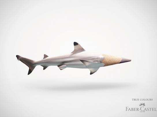 Faber-Castell Print Ad -  Shark