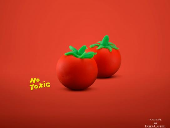 Faber-Castell Print Ad -  Tomato