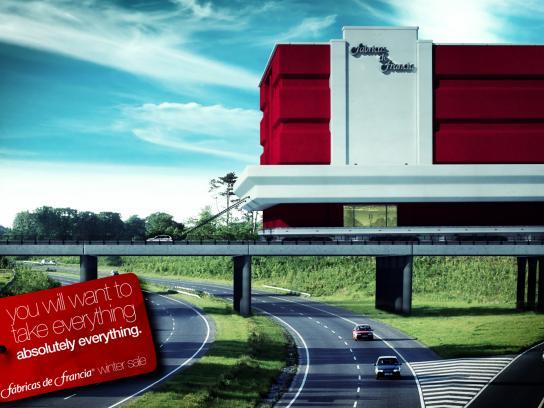 Fabricas de Francia Print Ad -  Everything, 1