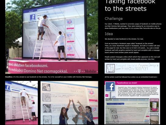 T-Mobile Ambient Ad -  Facebook