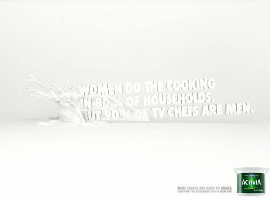 Danone Print Ad -  Cooking