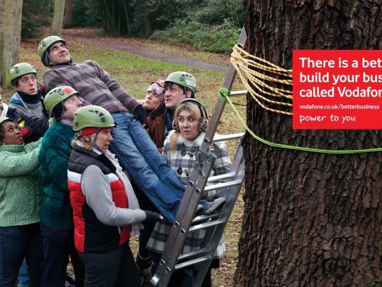 Vodafone Outdoor Ad -  Fall