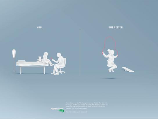 Famcare Print Ad -  Knee