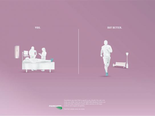 Famcare Print Ad -  Foot