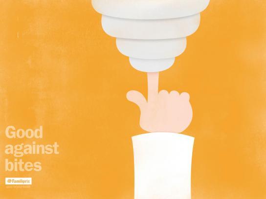Familiprix Drugstores Print Ad -  Pharmacist arm, 3