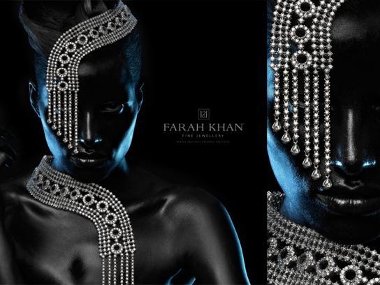 Farah Khan Print Ad -  Black, 1
