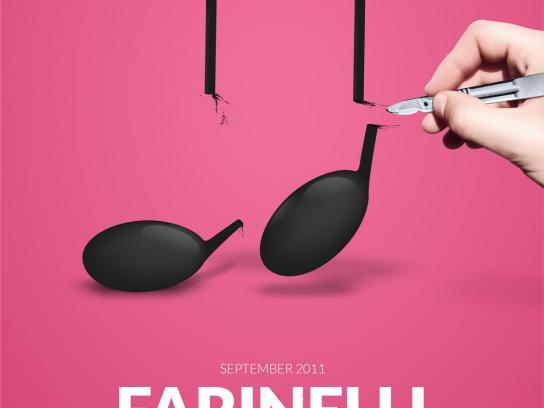 Musikaliska Concert Hall Print Ad -  Farinelli