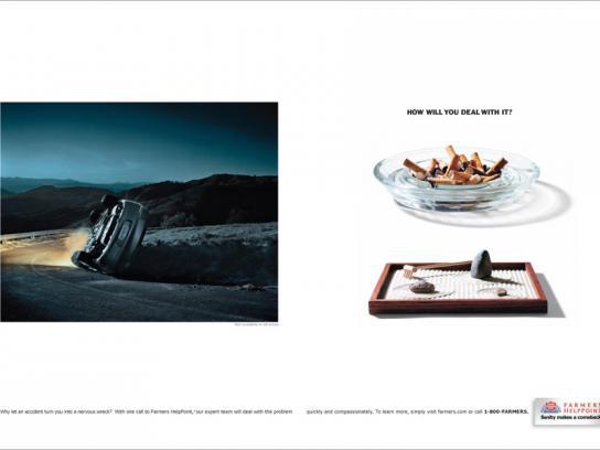 Farmers HelpPoint Print Ad -  Car
