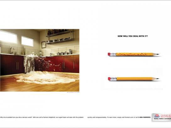 Farmers HelpPoint Print Ad -  Kitchen