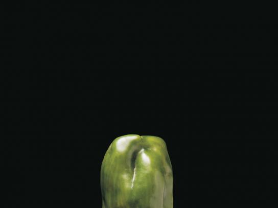 Farm Shoppe Print Ad -  Green pepper