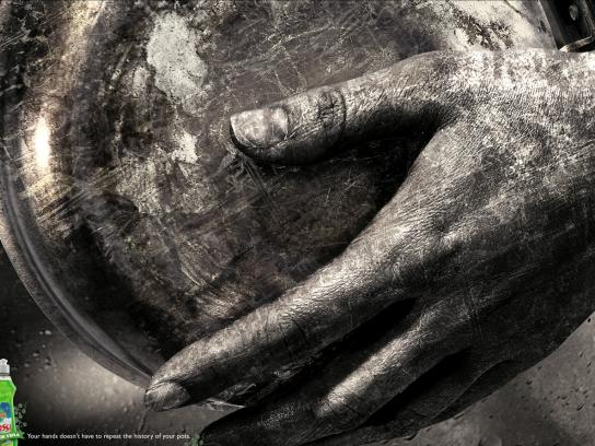 Fassi Print Ad -  Hands, 1