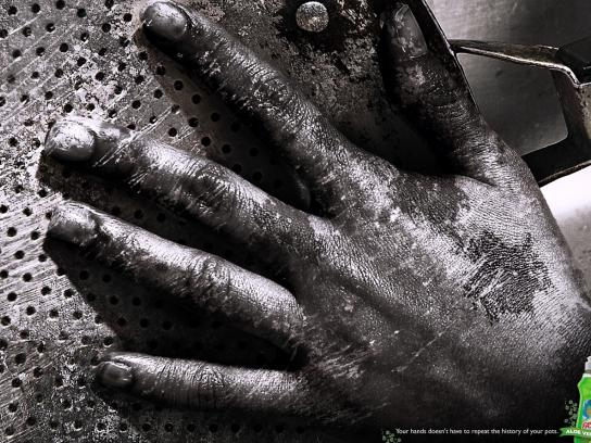 Fassi Print Ad -  Hands, 2