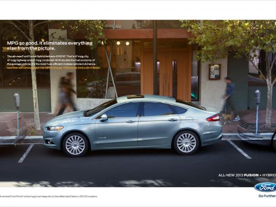 Ford Print Ad -  Invisible, 2