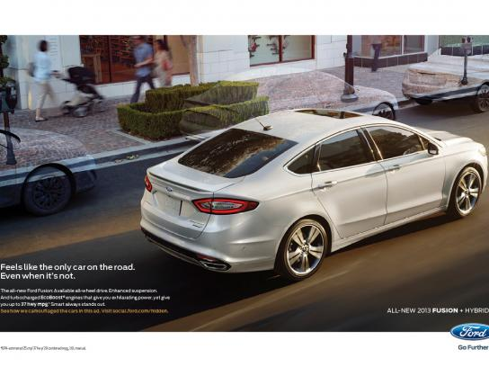 Ford Print Ad -  Invisible, 3