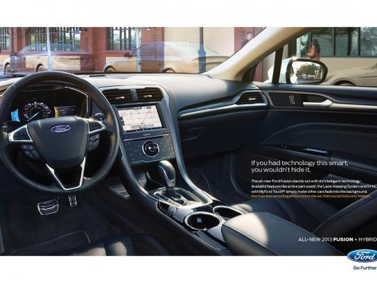Ford Print Ad -  Invisible, 4
