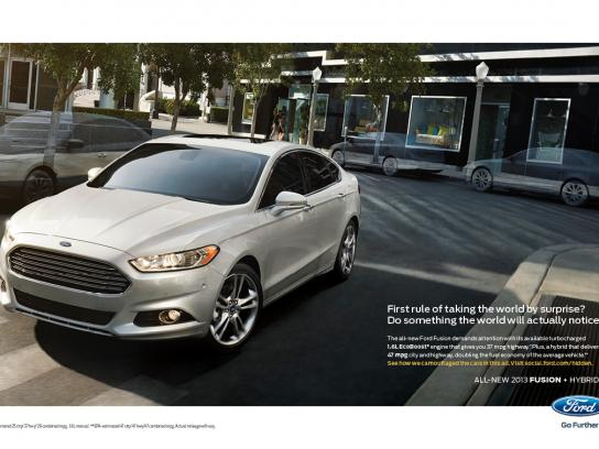 Ford Print Ad -  Invisible, 5