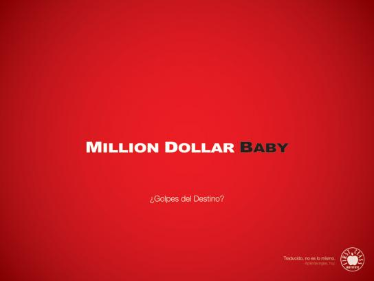 First Class Institute Print Ad -  Million Dollar Baby