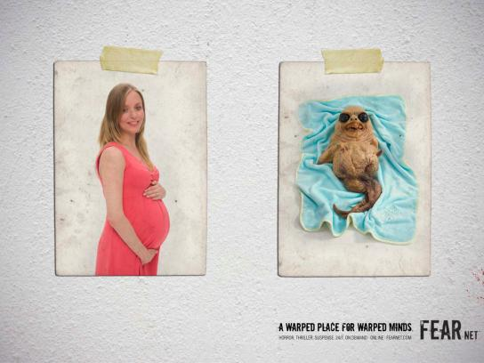 FearNet Print Ad -  Baby