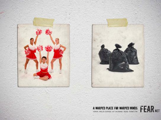 FearNet Print Ad -  Bags