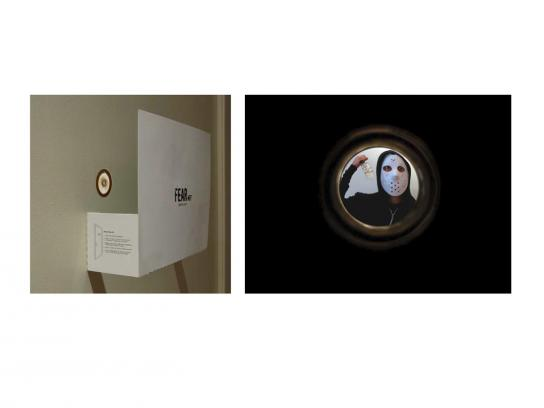FearNet Ambient Ad -  Peephole