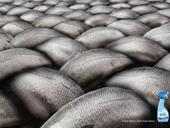 Febreze Print Ad -  Fish