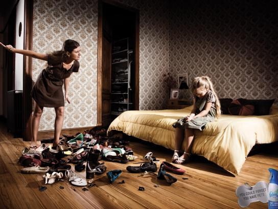 Febreze Print Ad -  Shoes