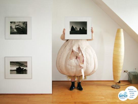 Febreze Print Ad -  Garlic