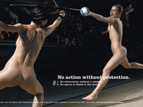 Aids awareness, Fencing
