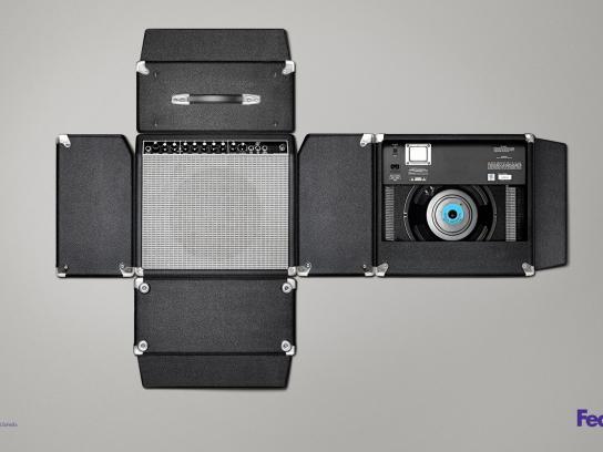 FedEx Print Ad -  Amplifier