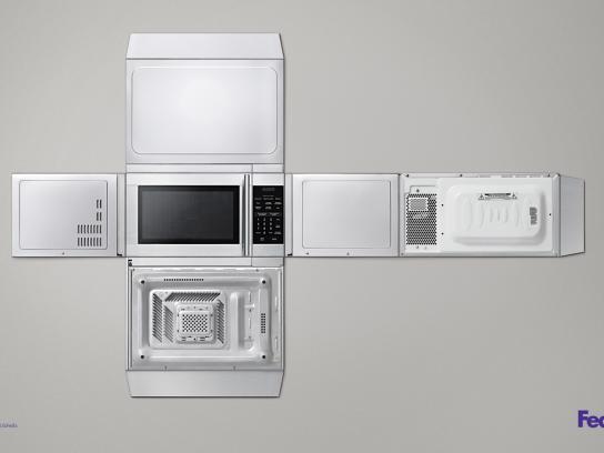 FedEx Print Ad -  Microwave