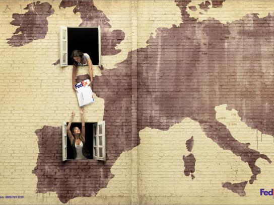 FedEx Print Ad -  London-Spain
