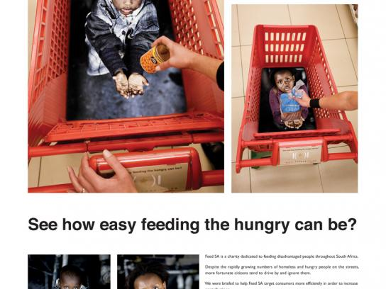 Feed SA Ambient Ad -  Trolley