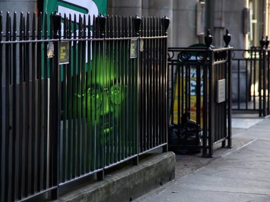 Amnesty International Ambient Ad -  Fence