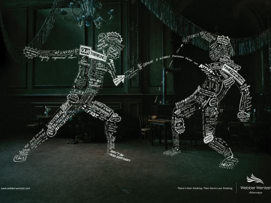Webber Wentzel Print Ad -  Fencer
