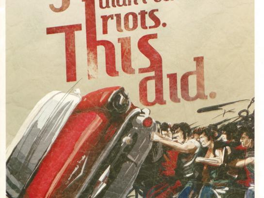 Fender Print Ad -  Riots