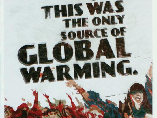 Fender Print Ad -  Global warming