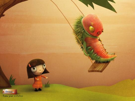 Fenistil Print Ad -  Caterpillar