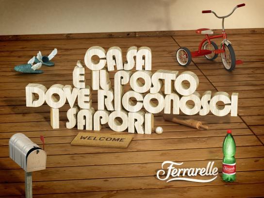 Ferrarelle Print Ad -  Naples Airport, 4