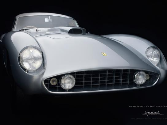 Utah Museum of Fine Arts Print Ad -  Ferrari